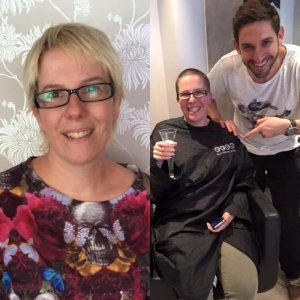 Mova Staines Charity Head Shave