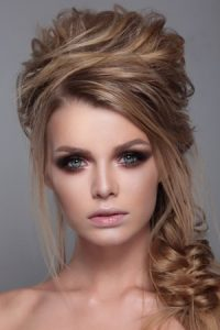 half-upstyle-for-proms, staines hair salon