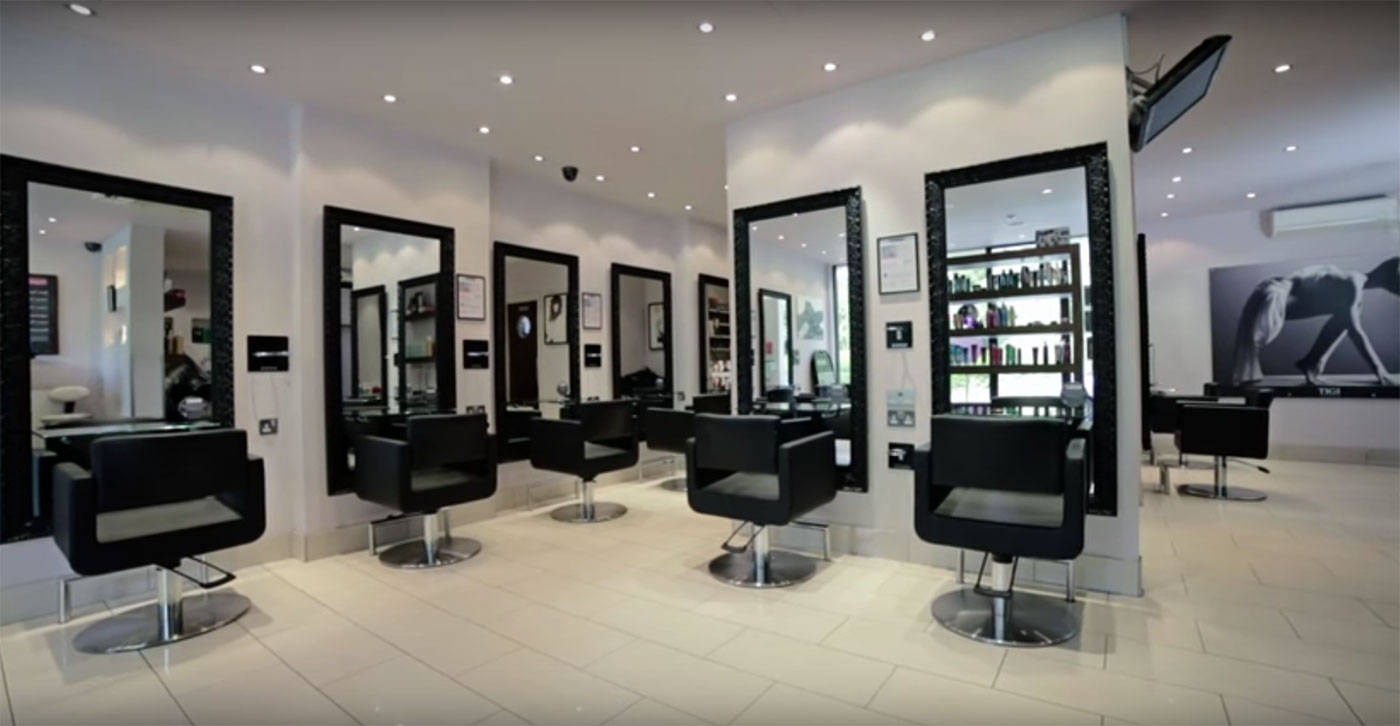 Mova hairdressing virginia water for Address beauty salon