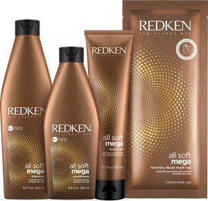 NEW Redken All Soft Mega Treatments