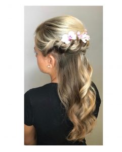 prom hairstyle, mova hair salons, staines and virginia water, surrey