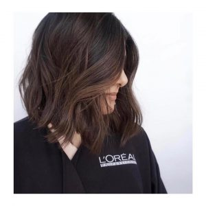brunette hair colour for autumn at mova hairdressers in staines virginia water