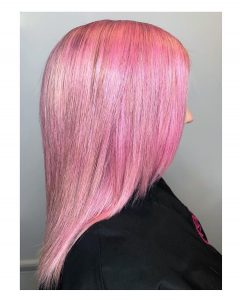 pastel pink hair colour top hair salons virginia water and staines