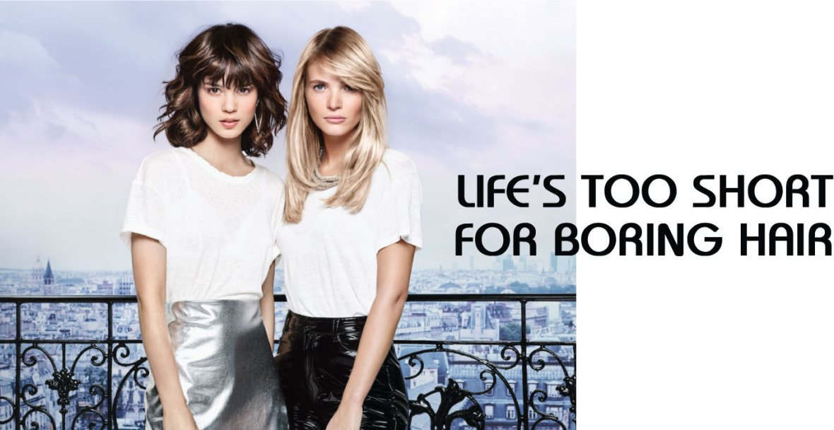 Life's Too Short For Boring Hair