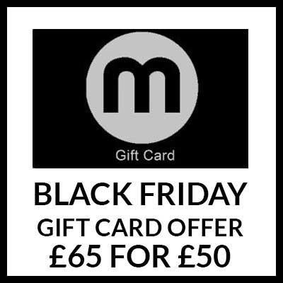Black Friday Gift Card Sale - £195 for £150