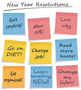 New Year Resolutions. mova hair salons, staines and virginia water