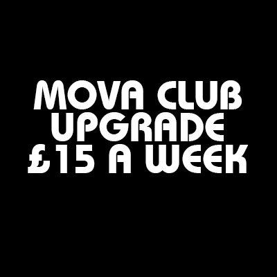 Mova Club - £15 A Week