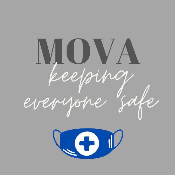 How is Mova keeping everyone safe?