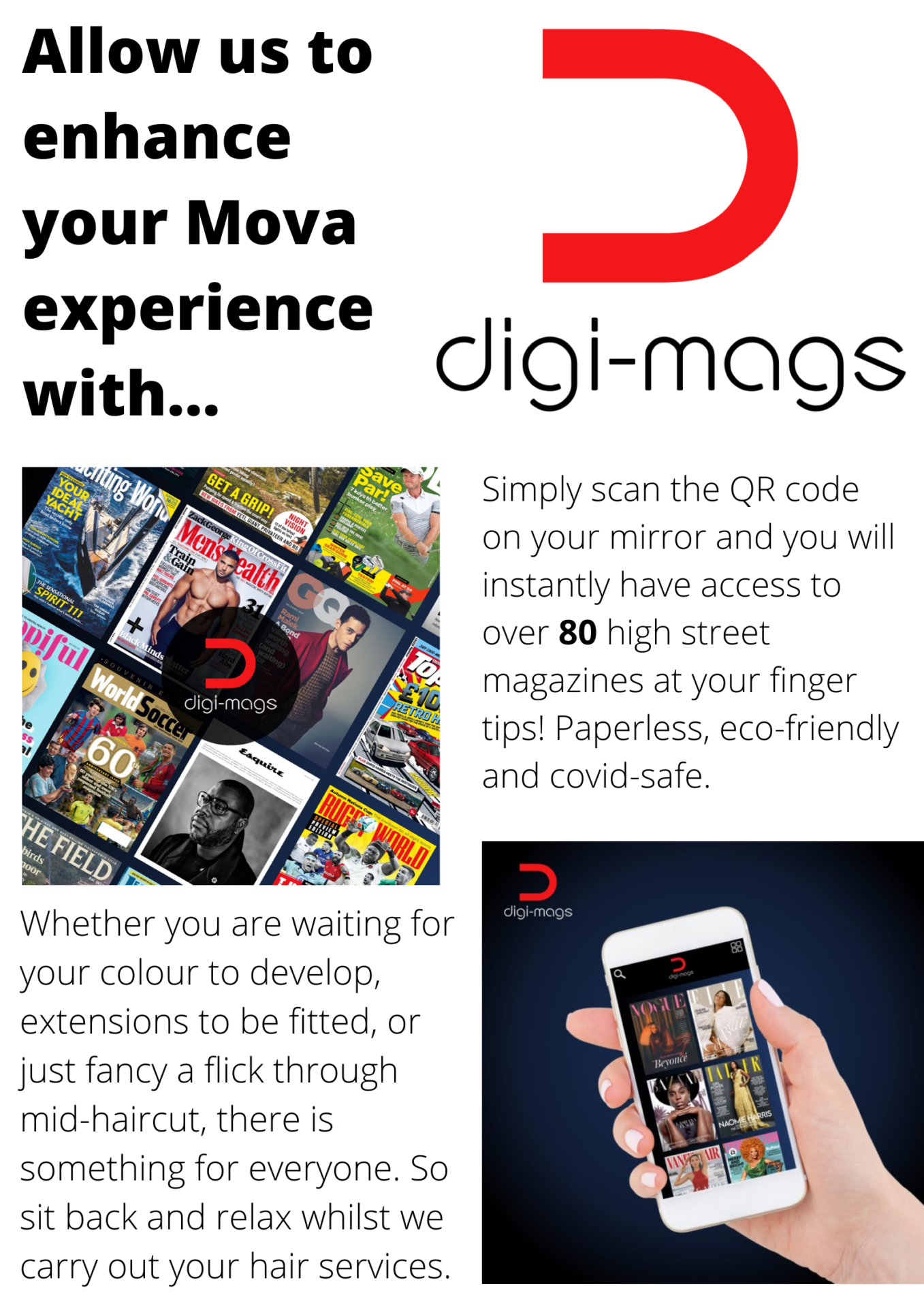 Allow us to enhance your Mova experience with DIGI MAGS